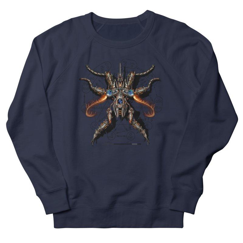 Mech Mosquito Pentagram of Evil Data Men's Sweatshirt by stampedepress's Artist Shop