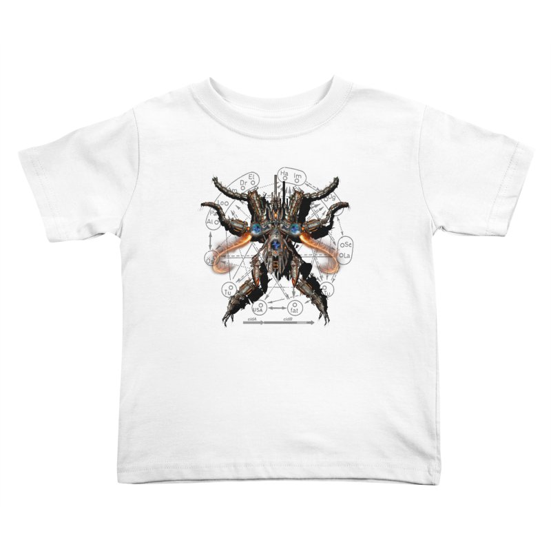 Mech Mosquito Pentagram of Evil Data Kids Toddler T-Shirt by stampedepress's Artist Shop