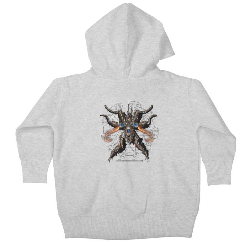 Mech Mosquito Pentagram of Evil Data Kids Baby Zip-Up Hoody by stampedepress's Artist Shop