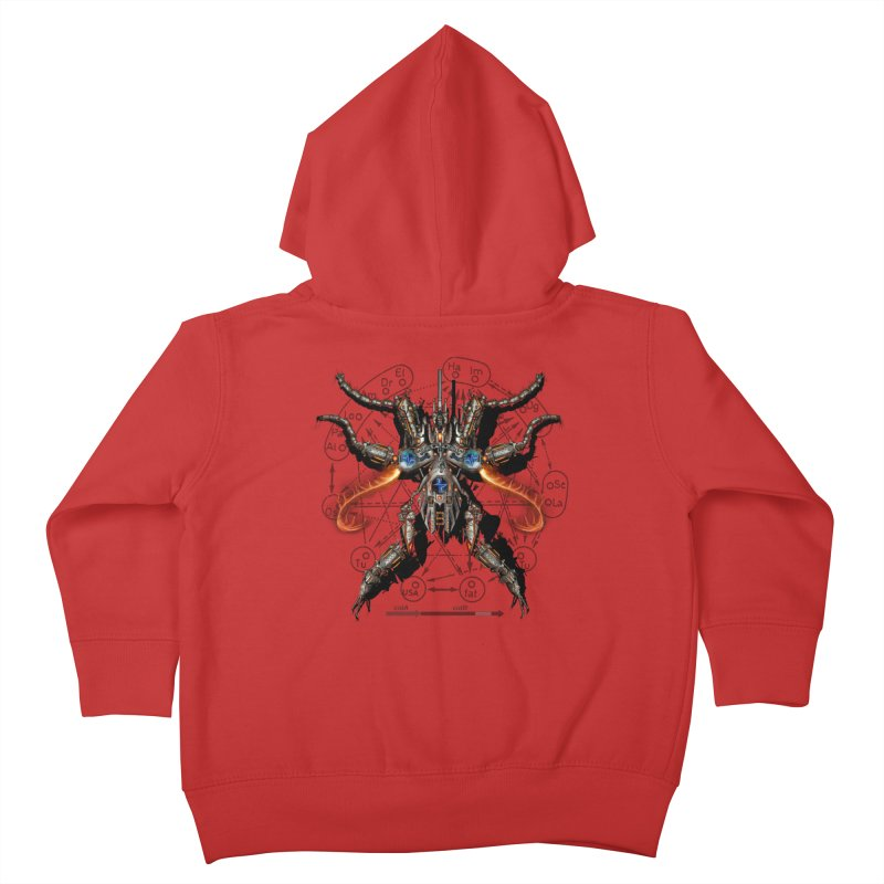Mech Mosquito Pentagram of Evil Data Kids Toddler Zip-Up Hoody by stampedepress's Artist Shop
