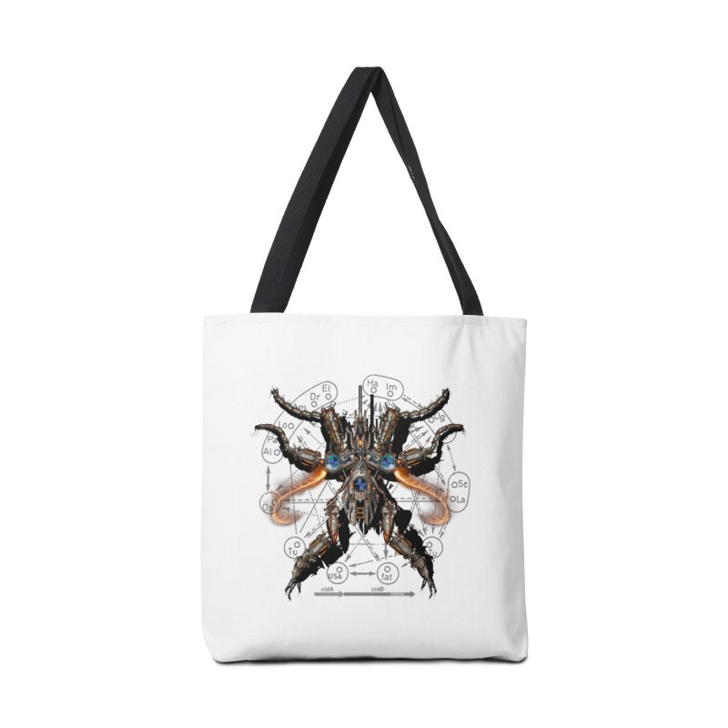 Mech Mosquito Pentagram of Evil Data Accessories Bag by stampedepress's Artist Shop