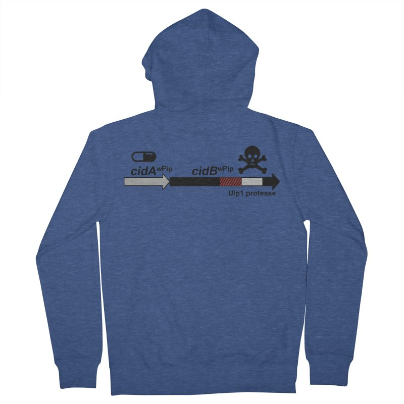 Wolbachia CI Inducing Deubiquitylating Operon Hypothesis T-Shirt of Scienctific Dominance! Women's Zip-Up Hoody by stampedepress's Artist Shop