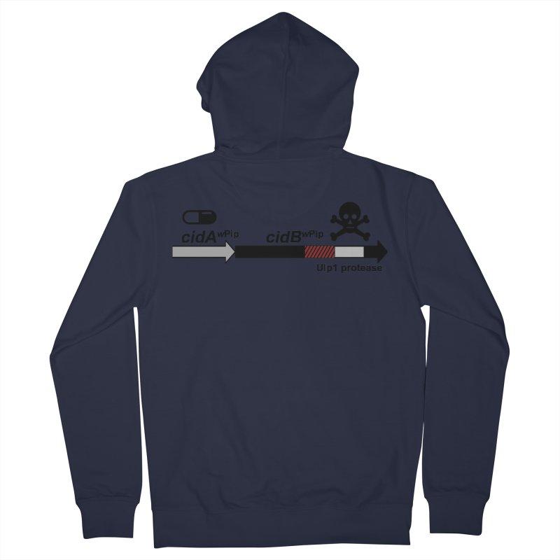 Wolbachia CI Inducing Deubiquitylating Operon Hypothesis T-Shirt of Scienctific Dominance! Men's Zip-Up Hoody by stampedepress's Artist Shop