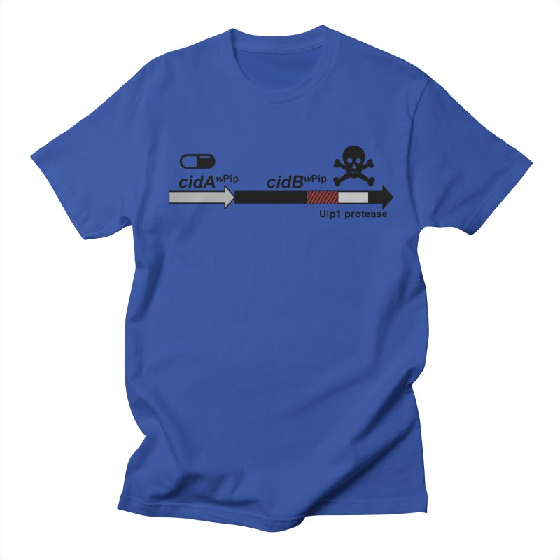 Wolbachia CI Inducing Deubiquitylating Operon Hypothesis T-Shirt of Scienctific Dominance! Men's Regular T-Shirt by stampedepress's Artist Shop