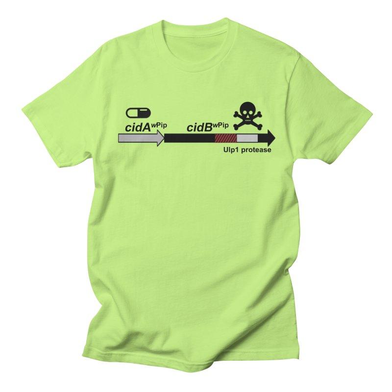 Wolbachia CI Inducing Deubiquitylating Operon Hypothesis T-Shirt of Scienctific Dominance! Men's T-shirt by stampedepress's Artist Shop