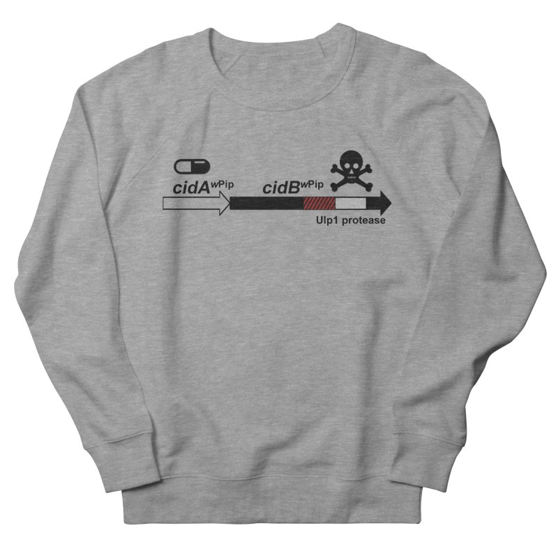 Wolbachia CI Inducing Deubiquitylating Operon Hypothesis T-Shirt of Scienctific Dominance! Men's French Terry Sweatshirt by stampedepress's Artist Shop
