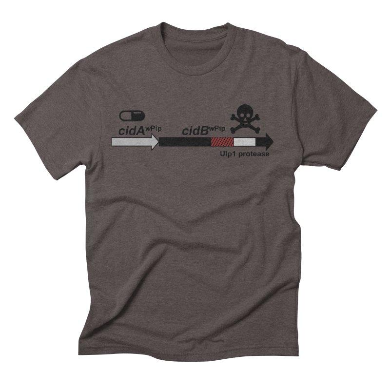 Wolbachia CI Inducing Deubiquitylating Operon Hypothesis T-Shirt of Scienctific Dominance! Men's Triblend T-Shirt by stampedepress's Artist Shop