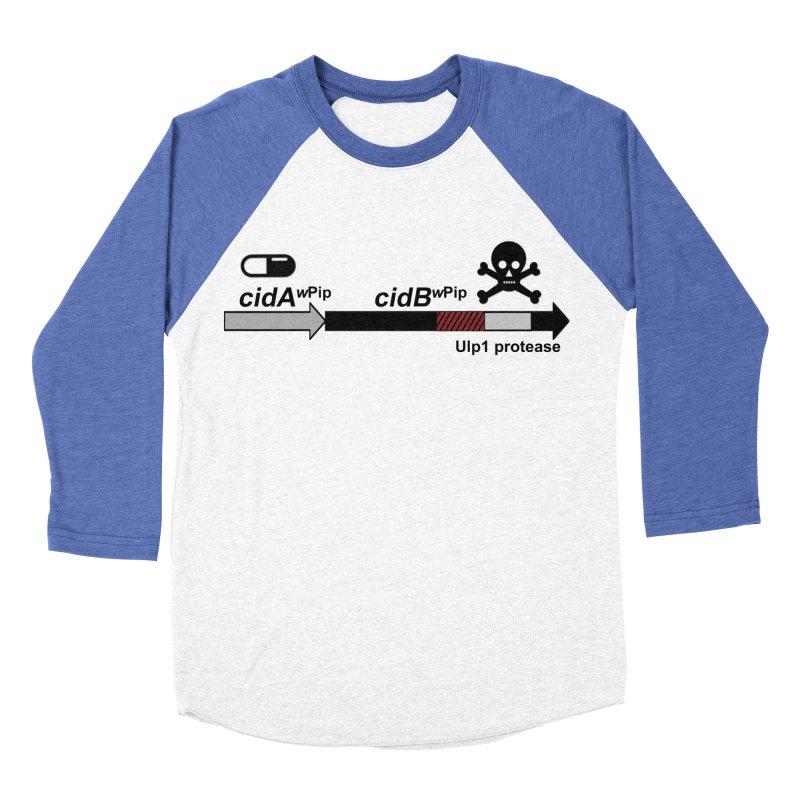 Wolbachia CI Inducing Deubiquitylating Operon Hypothesis T-Shirt of Scienctific Dominance! Men's Baseball Triblend T-Shirt by stampedepress's Artist Shop