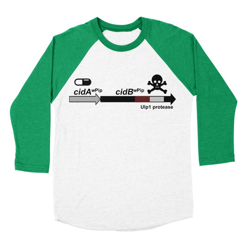 Wolbachia CI Inducing Deubiquitylating Operon Hypothesis T-Shirt of Scienctific Dominance! Men's Baseball Triblend T-Shirt by stampedepress's Artist Shop