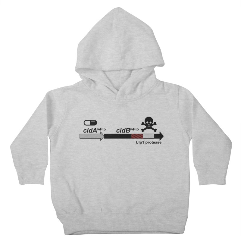 Wolbachia CI Inducing Deubiquitylating Operon Hypothesis T-Shirt of Scienctific Dominance! Kids Toddler Pullover Hoody by stampedepress's Artist Shop