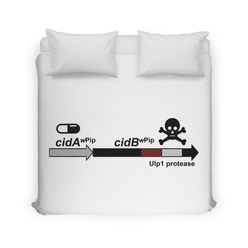 Wolbachia CI Inducing Deubiquitylating Operon Hypothesis T-Shirt of Scienctific Dominance! Home Duvet by stampedepress's Artist Shop