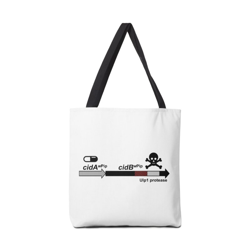 Wolbachia CI Inducing Deubiquitylating Operon Hypothesis T-Shirt of Scienctific Dominance! Accessories Bag by stampedepress's Artist Shop