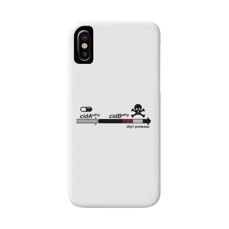 Wolbachia CI Inducing Deubiquitylating Operon Hypothesis T-Shirt of Scienctific Dominance! Accessories Phone Case by stampedepress's Artist Shop