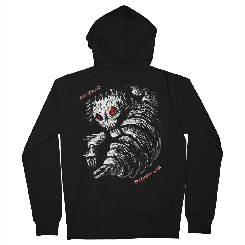 Bad Brood Beckmann Lab Men's Zip-Up Hoody by stampedepress's Artist Shop