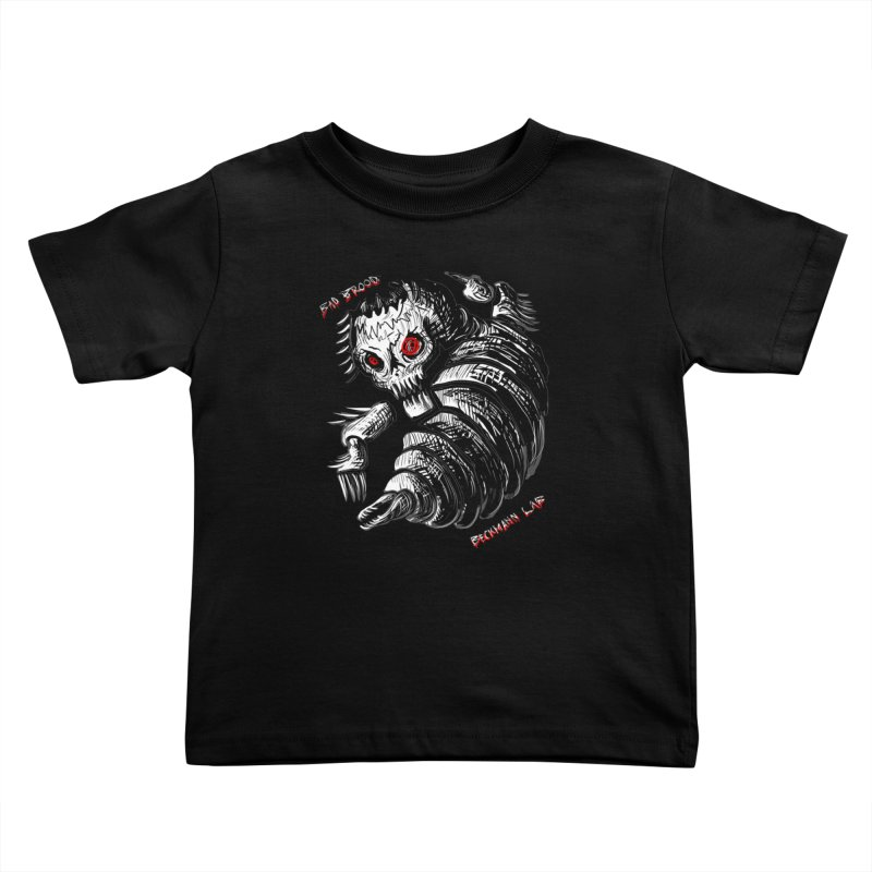 Bad Brood Beckmann Lab Kids Toddler T-Shirt by stampedepress's Artist Shop