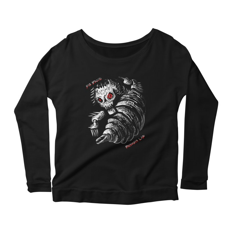 Bad Brood Beckmann Lab Women's Longsleeve Scoopneck  by stampedepress's Artist Shop