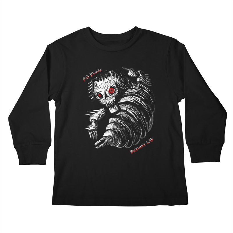 Bad Brood Beckmann Lab Kids Longsleeve T-Shirt by stampedepress's Artist Shop