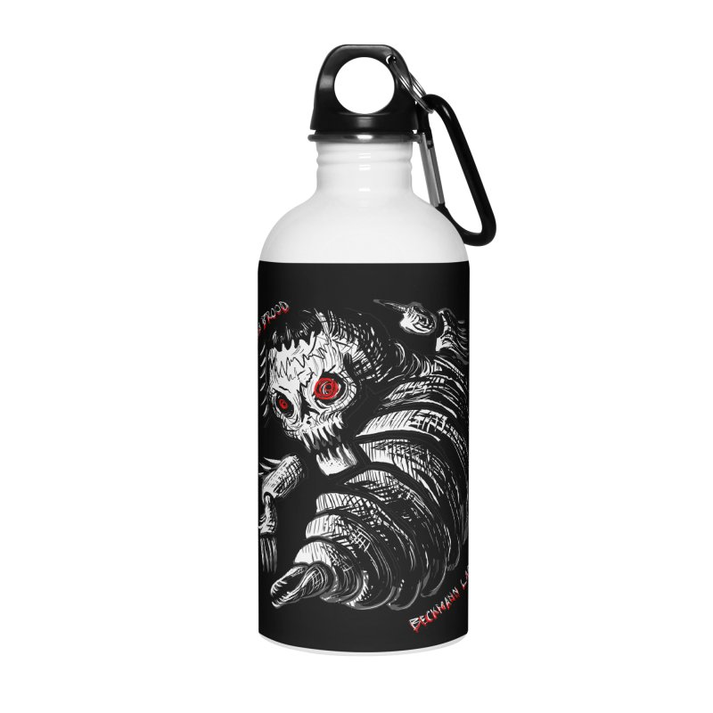 Bad Brood Beckmann Lab Accessories Water Bottle by stampedepress's Artist Shop