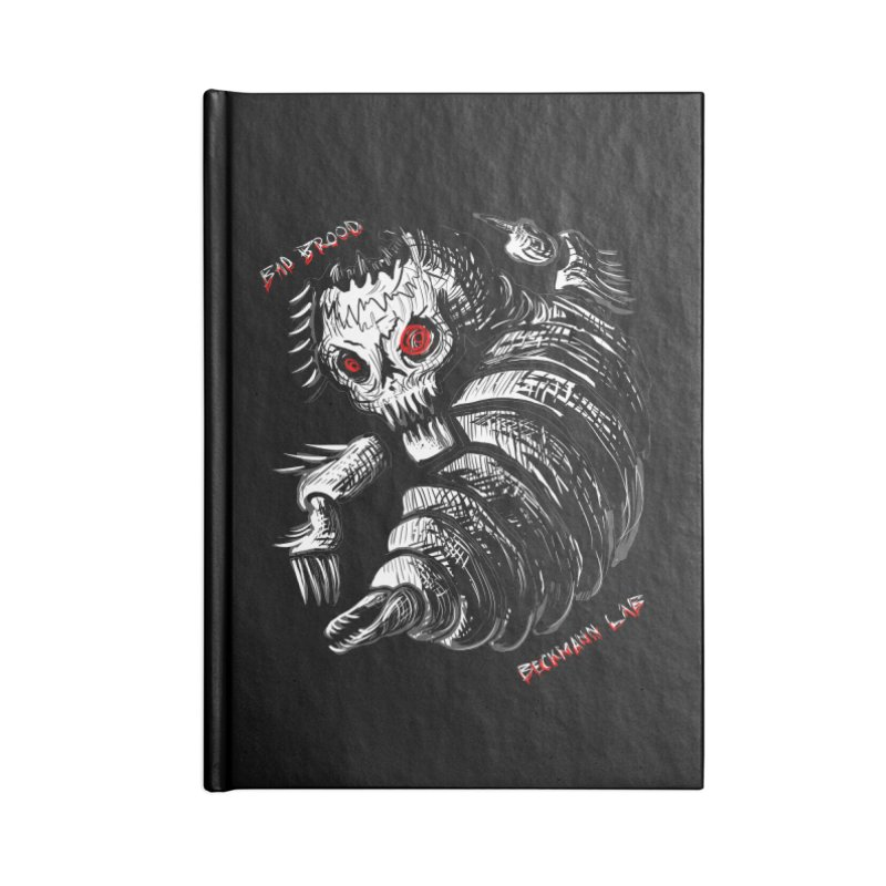 Bad Brood Beckmann Lab Accessories Notebook by stampedepress's Artist Shop