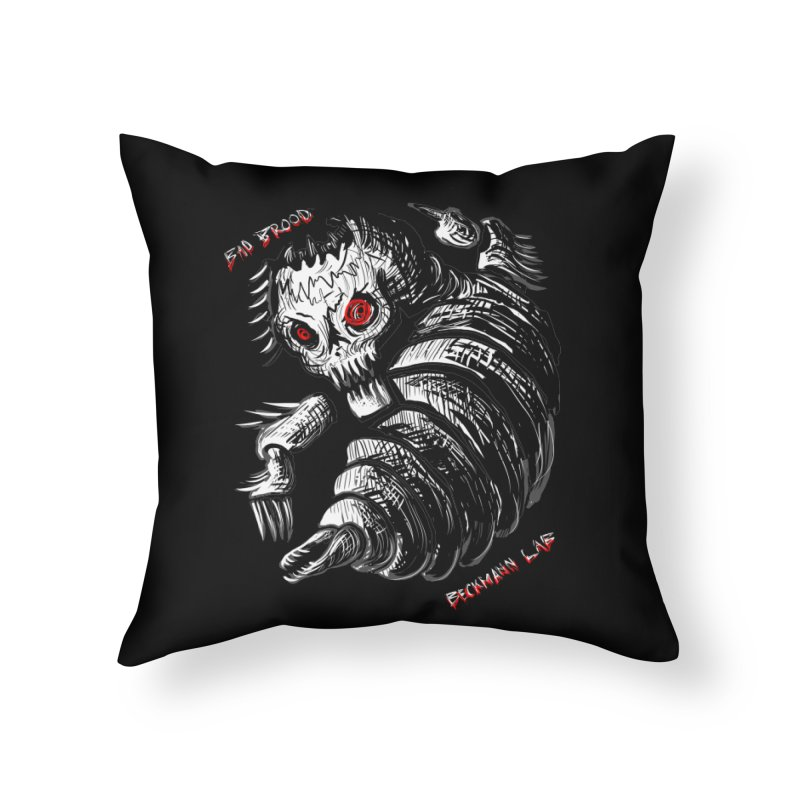 Bad Brood Beckmann Lab Home Throw Pillow by stampedepress's Artist Shop