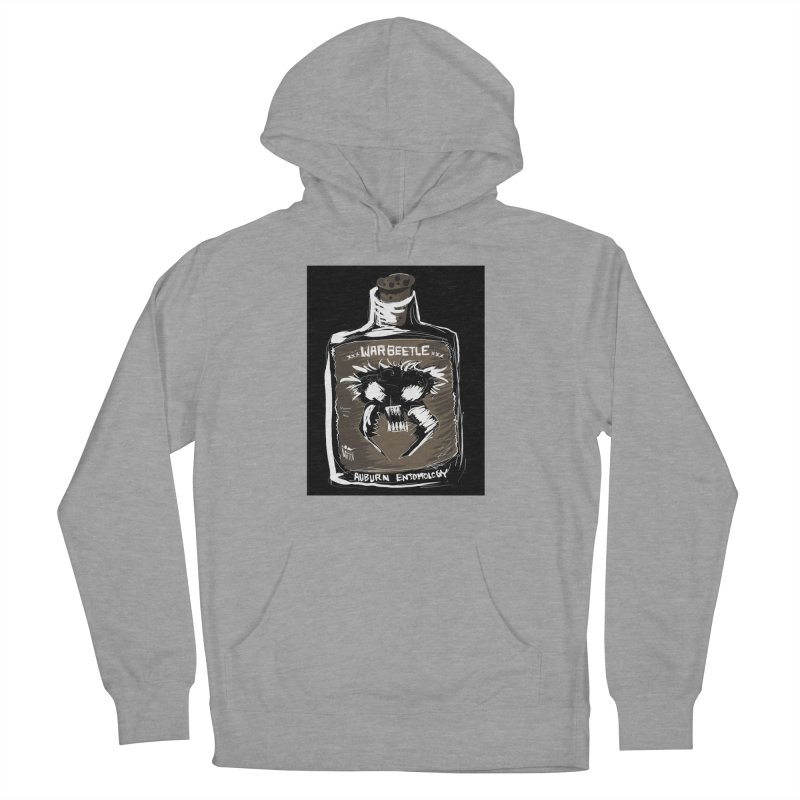 war beetle Women's French Terry Pullover Hoody by stampedepress's Artist Shop
