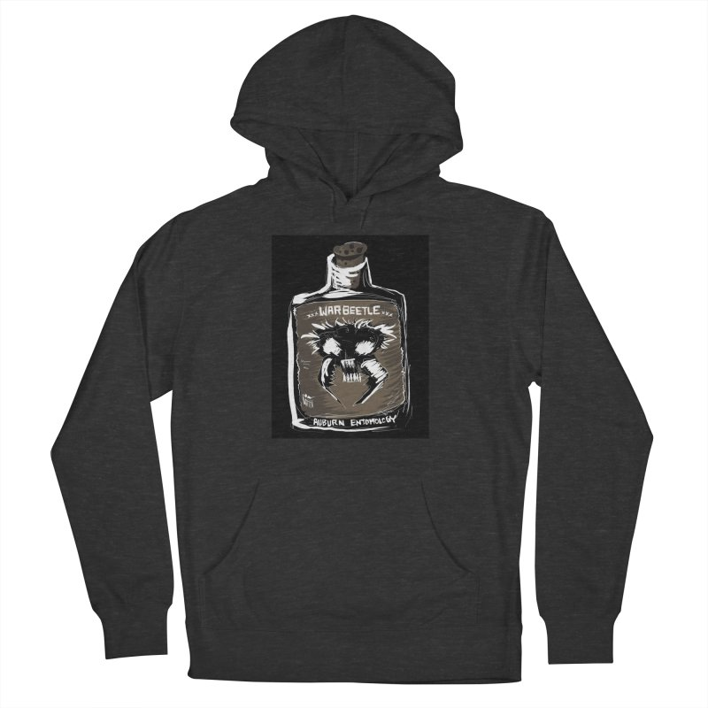 war beetle Men's French Terry Pullover Hoody by stampedepress's Artist Shop