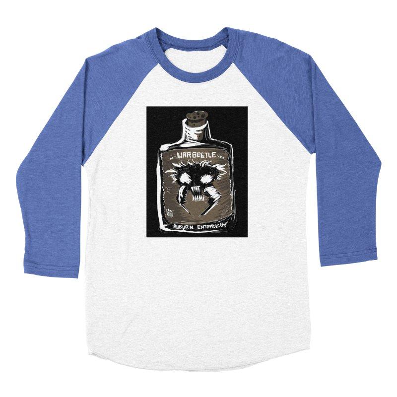 war beetle Women's Baseball Triblend Longsleeve T-Shirt by stampedepress's Artist Shop