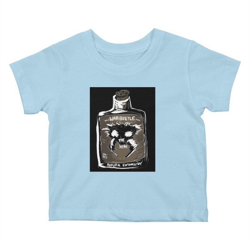 war beetle Kids Baby T-Shirt by stampedepress's Artist Shop