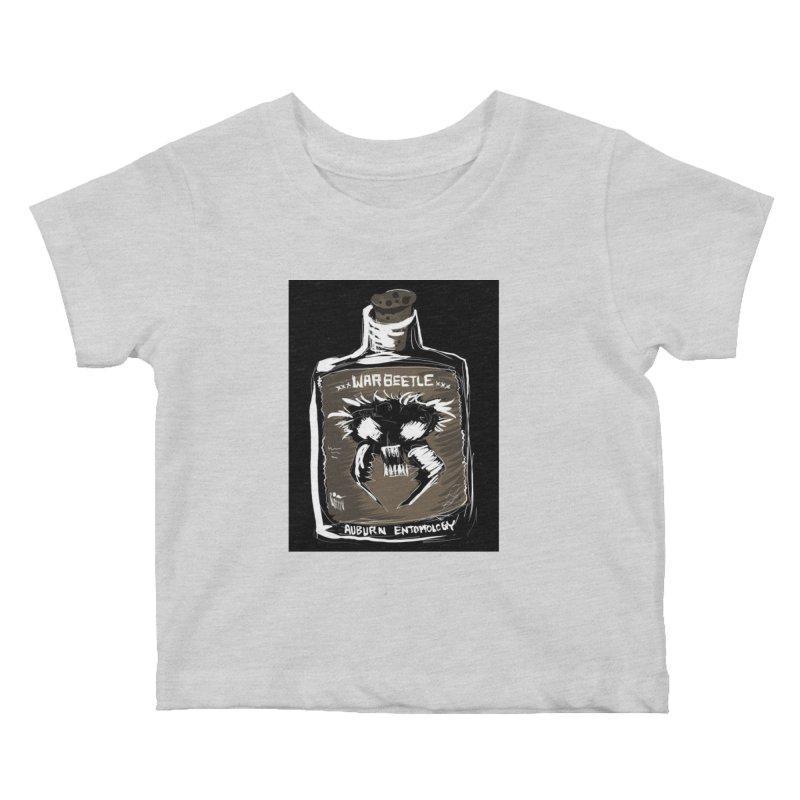 war beetle Kids Baby T-Shirt by stampedepress's Artist Shop