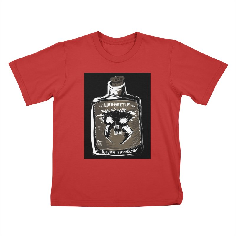 war beetle Kids T-Shirt by stampedepress's Artist Shop