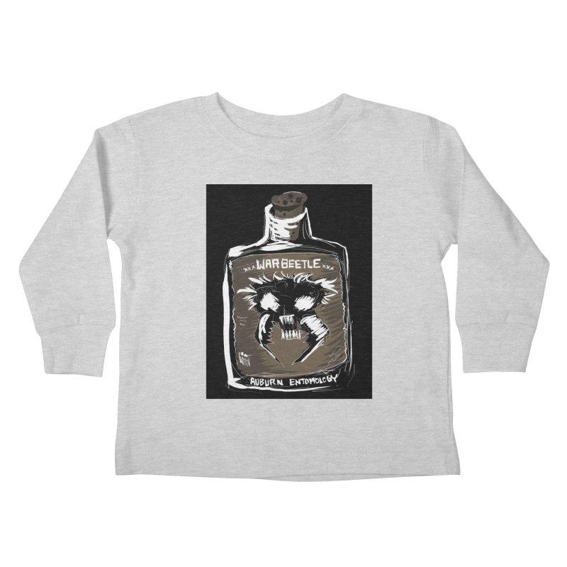 war beetle Kids Toddler Longsleeve T-Shirt by stampedepress's Artist Shop