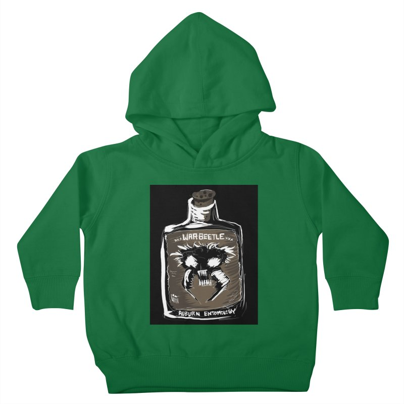 war beetle Kids Toddler Pullover Hoody by stampedepress's Artist Shop