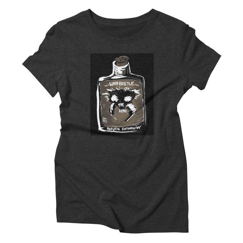 war beetle Women's Triblend T-Shirt by stampedepress's Artist Shop
