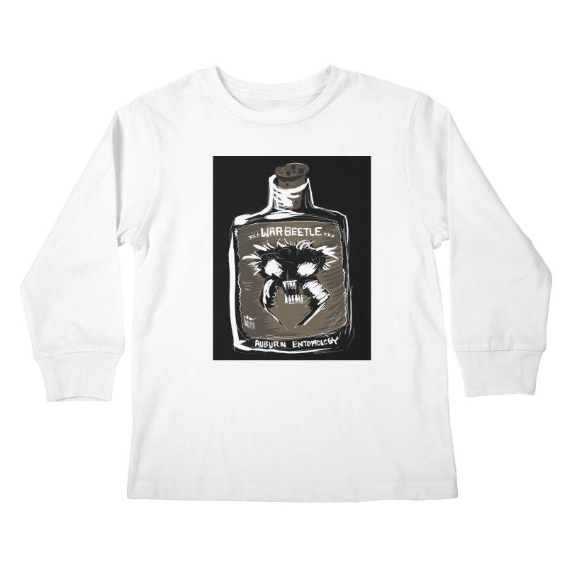 war beetle Kids Longsleeve T-Shirt by stampedepress's Artist Shop