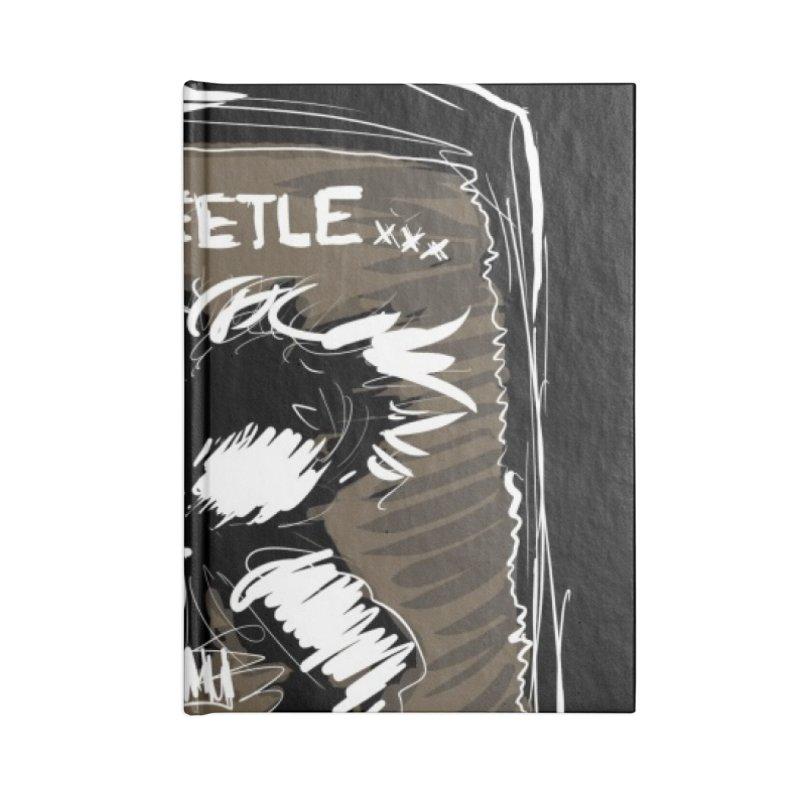 war beetle Accessories Notebook by stampedepress's Artist Shop