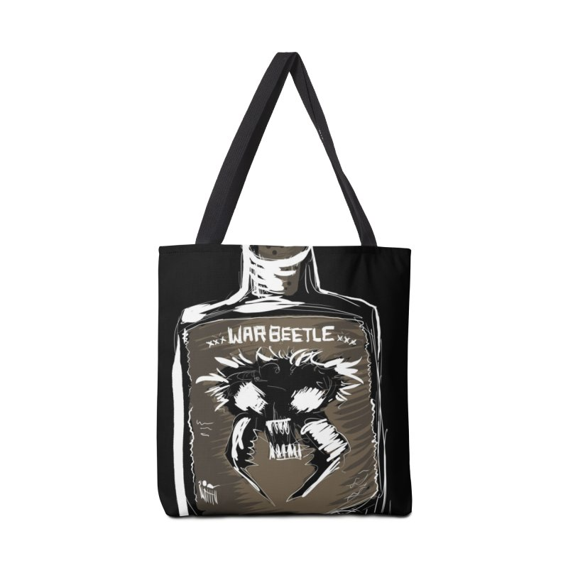war beetle Accessories Bag by stampedepress's Artist Shop