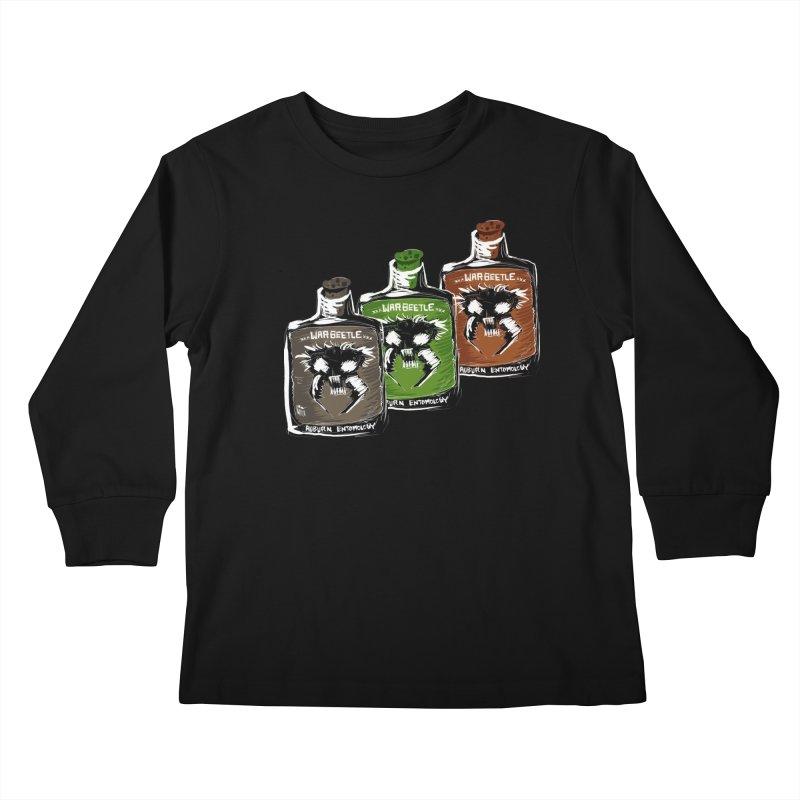 war beetle pick your poison Kids Longsleeve T-Shirt by stampedepress's Artist Shop