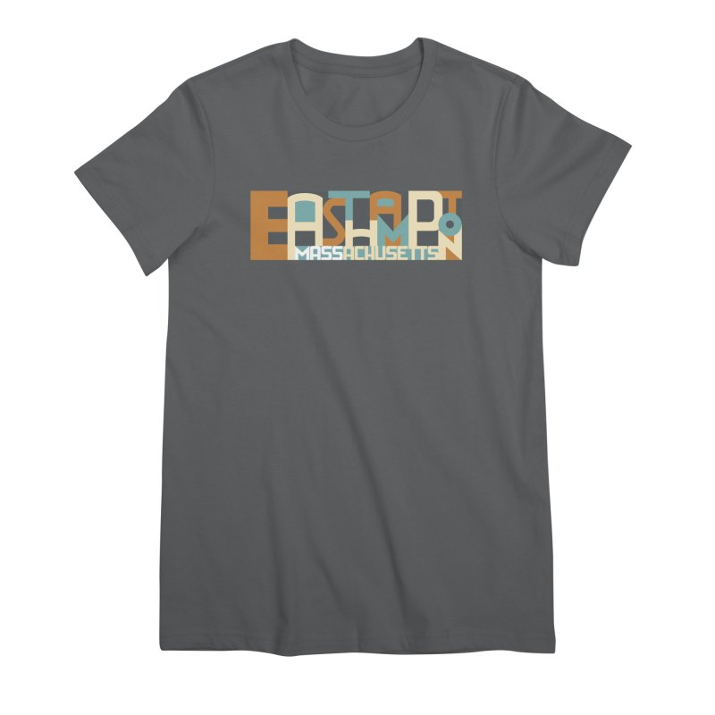 Easthampton, Massachusetts Women's T-Shirt by Object/Tom Pappalardo