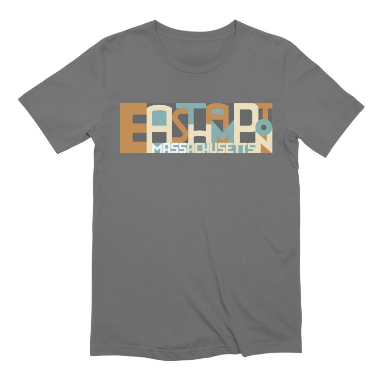 Easthampton, Massachusetts Men's T-Shirt by Object/Tom Pappalardo