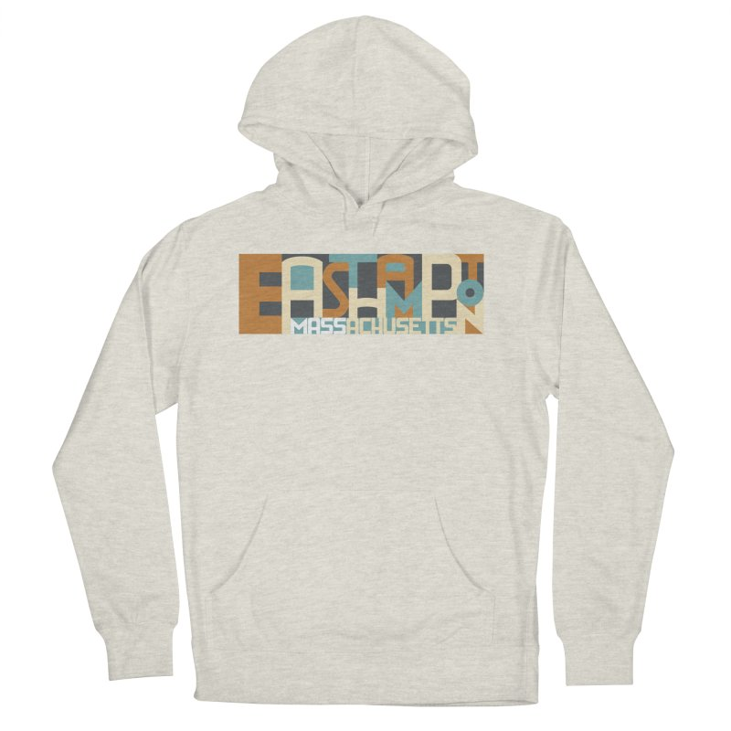 Easthampton, Massachusetts Women's French Terry Pullover Hoody by Tom Pappalardo / Standard Design