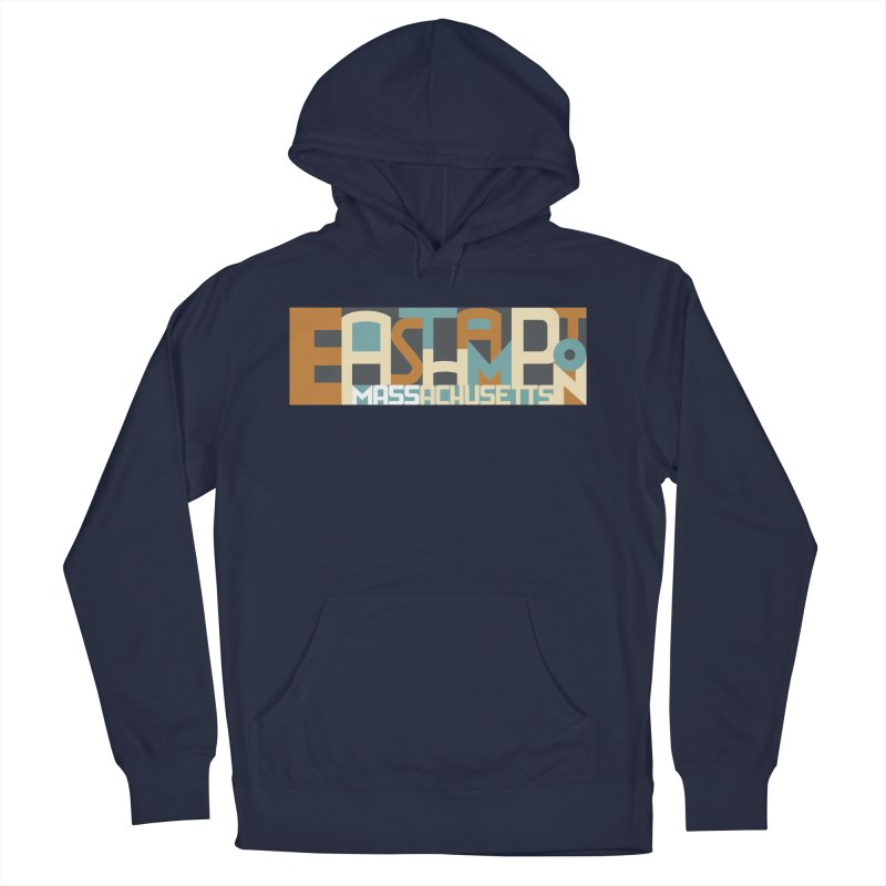 Easthampton, Massachusetts Men's French Terry Pullover Hoody by Tom Pappalardo / Standard Design