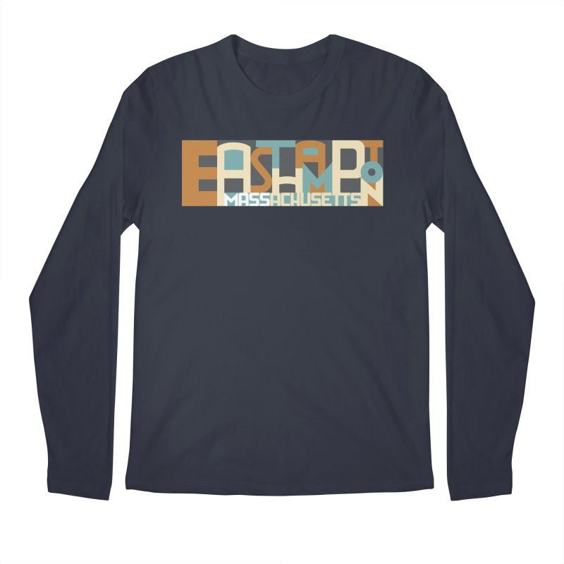 Easthampton, Massachusetts Men's Regular Longsleeve T-Shirt by Tom Pappalardo / Standard Design