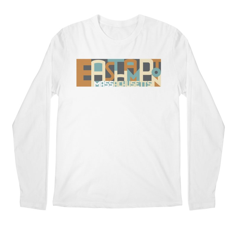 Easthampton, Massachusetts Men's Longsleeve T-Shirt by Tom Pappalardo / Standard Design