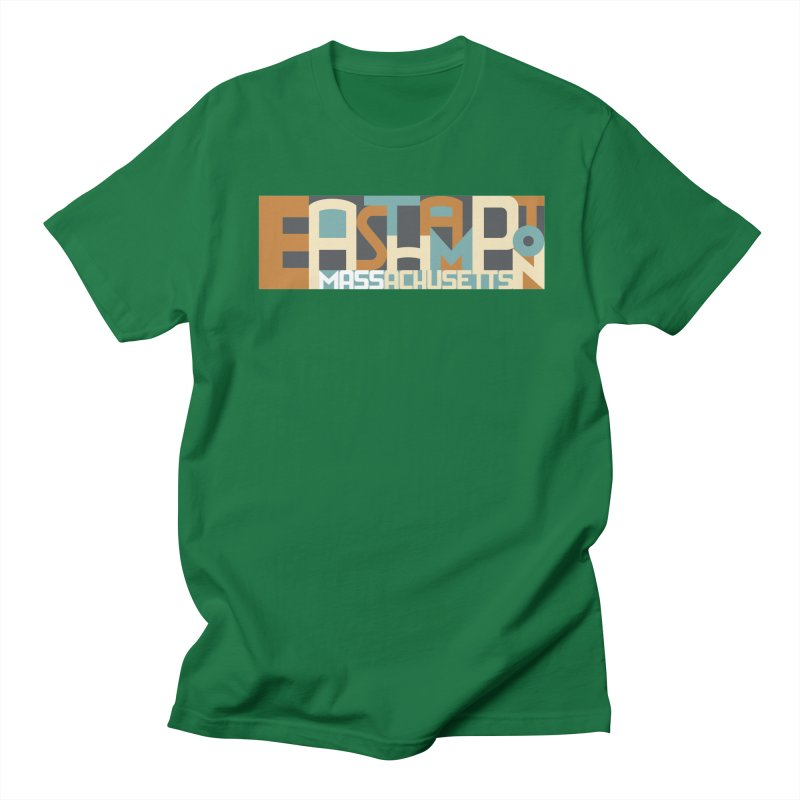 Easthampton, Massachusetts Women's Unisex T-Shirt by Tom Pappalardo / Standard Design
