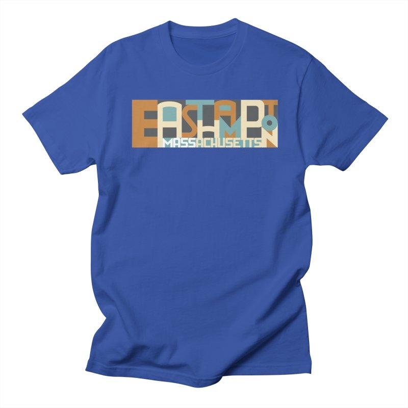 Easthampton, Massachusetts Women's Regular Unisex T-Shirt by Tom Pappalardo / Standard Design
