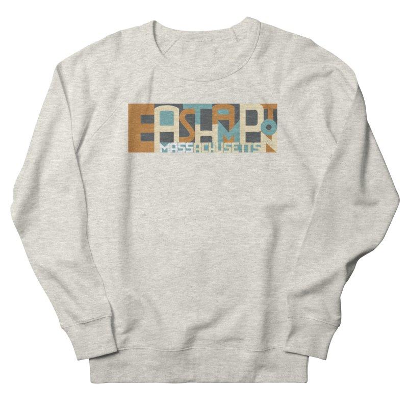 Easthampton, Massachusetts Women's French Terry Sweatshirt by Tom Pappalardo / Standard Design