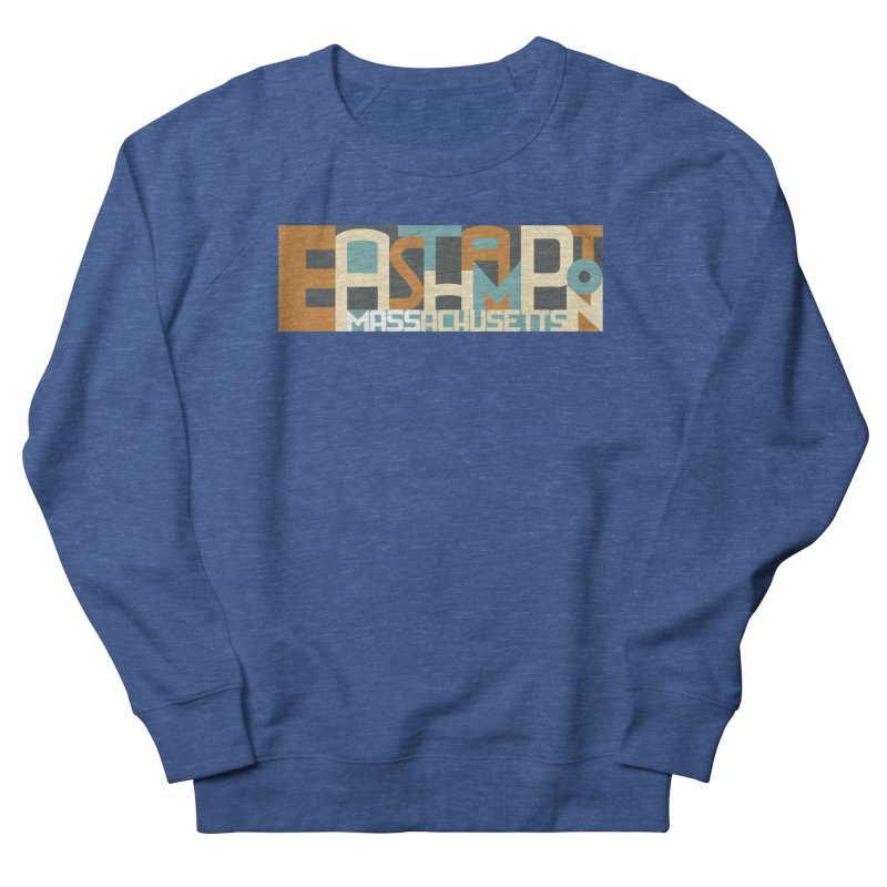 Easthampton, Massachusetts Men's French Terry Sweatshirt by Tom Pappalardo / Standard Design