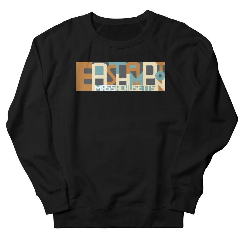 Easthampton, Massachusetts Men's French Terry Sweatshirt by Tom Pappalardo / Standard Design