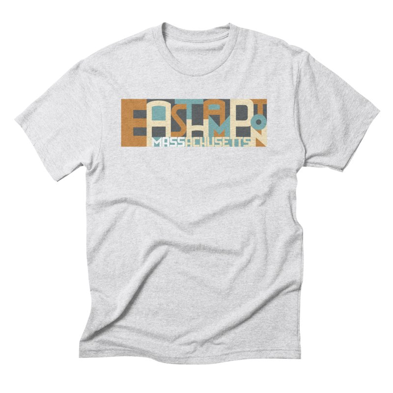 Easthampton, Massachusetts Men's Triblend T-Shirt by Tom Pappalardo / Standard Design