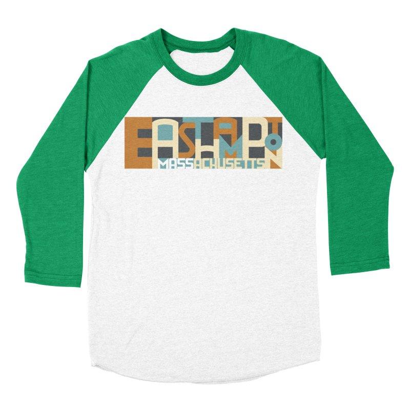 Easthampton, Massachusetts Women's Baseball Triblend Longsleeve T-Shirt by Tom Pappalardo / Standard Design